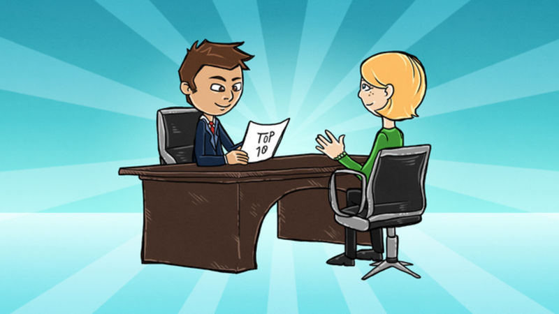job interview While some job interviewers take a fairly unusual approach to interview questions, most job interviews involve an exchange of common interview questions and answers (including some of the most.