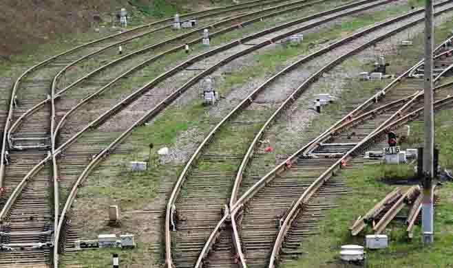 Railway line photo