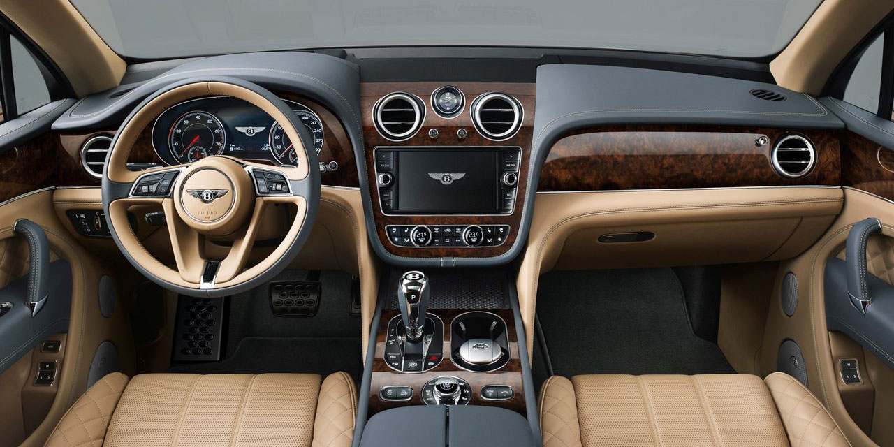 Bentley-Bentayga interior
