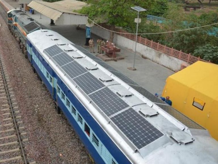 First solar-powered train by Indian Railways set for trial