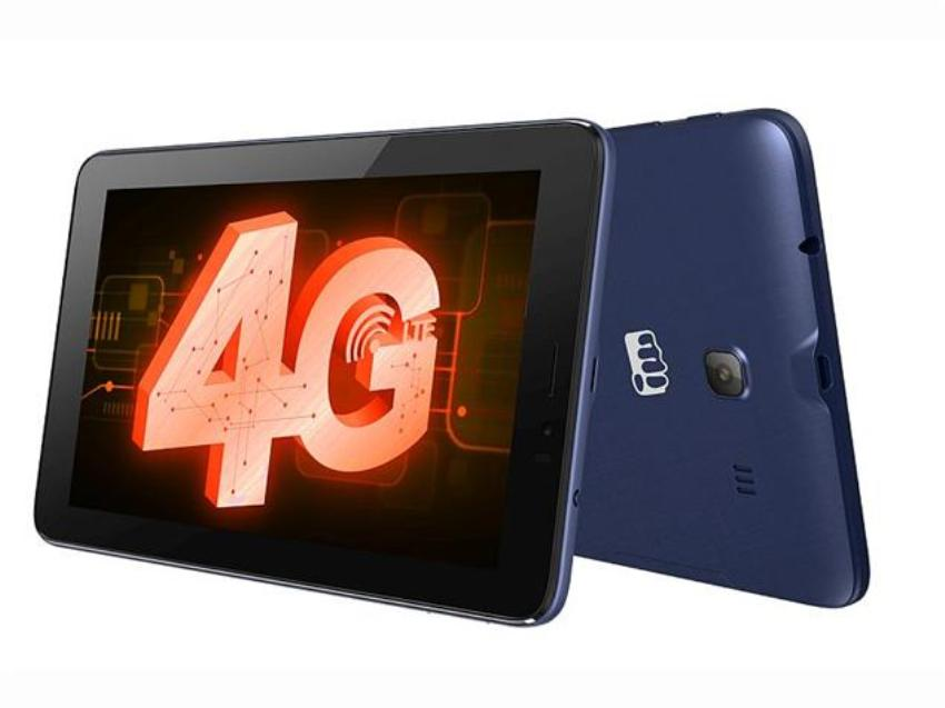 Micromax launches Canvas Tab P701 4G at Rs 7,250