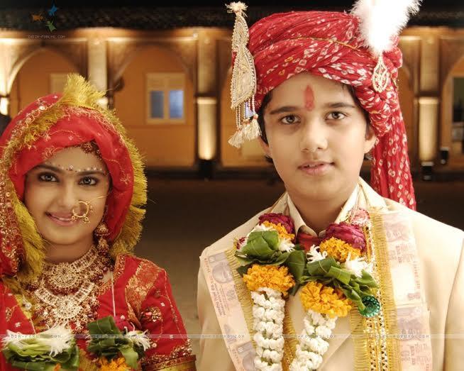Anandi and Jagdish in Balika Vadhu