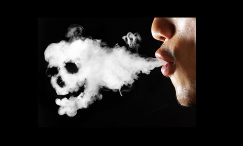 Smoker friends may gift you Cancer