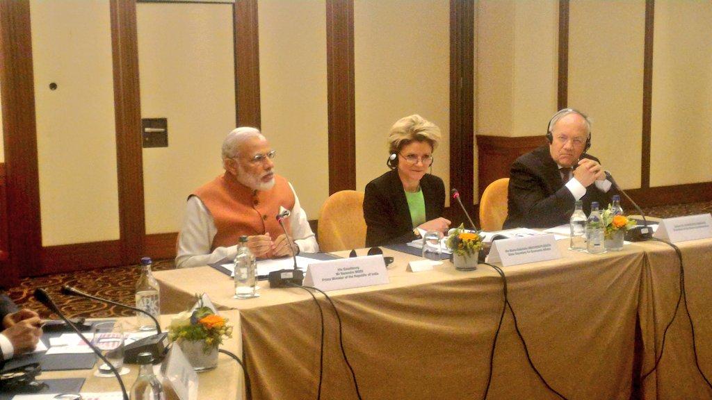 Indian Prime Minister Shri Narendra Modis visit to Switzerland