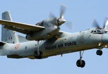 indian airforce plane missing