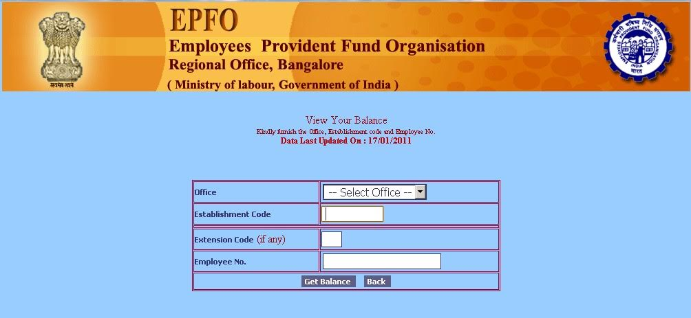 New online facility for the Provident Fund customers