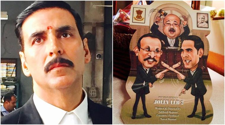 Akshay Kumar's look in 'Jolly LLB2' released