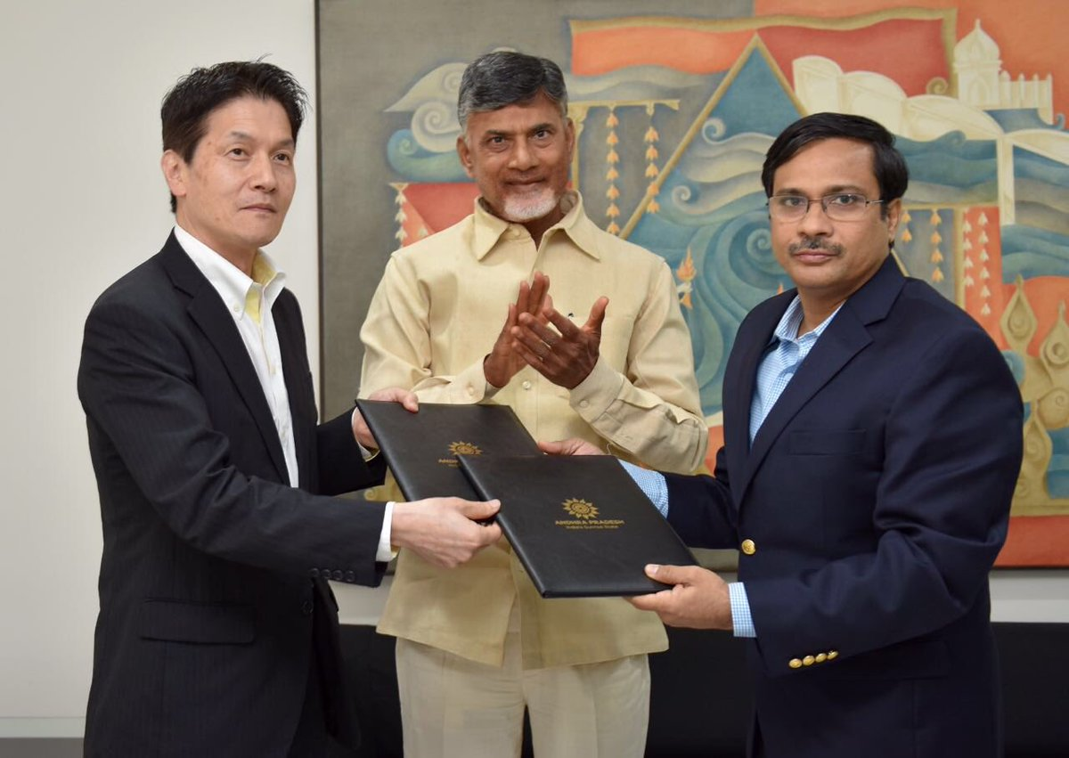 Andhra inks MoU with Japan to develop food value chain