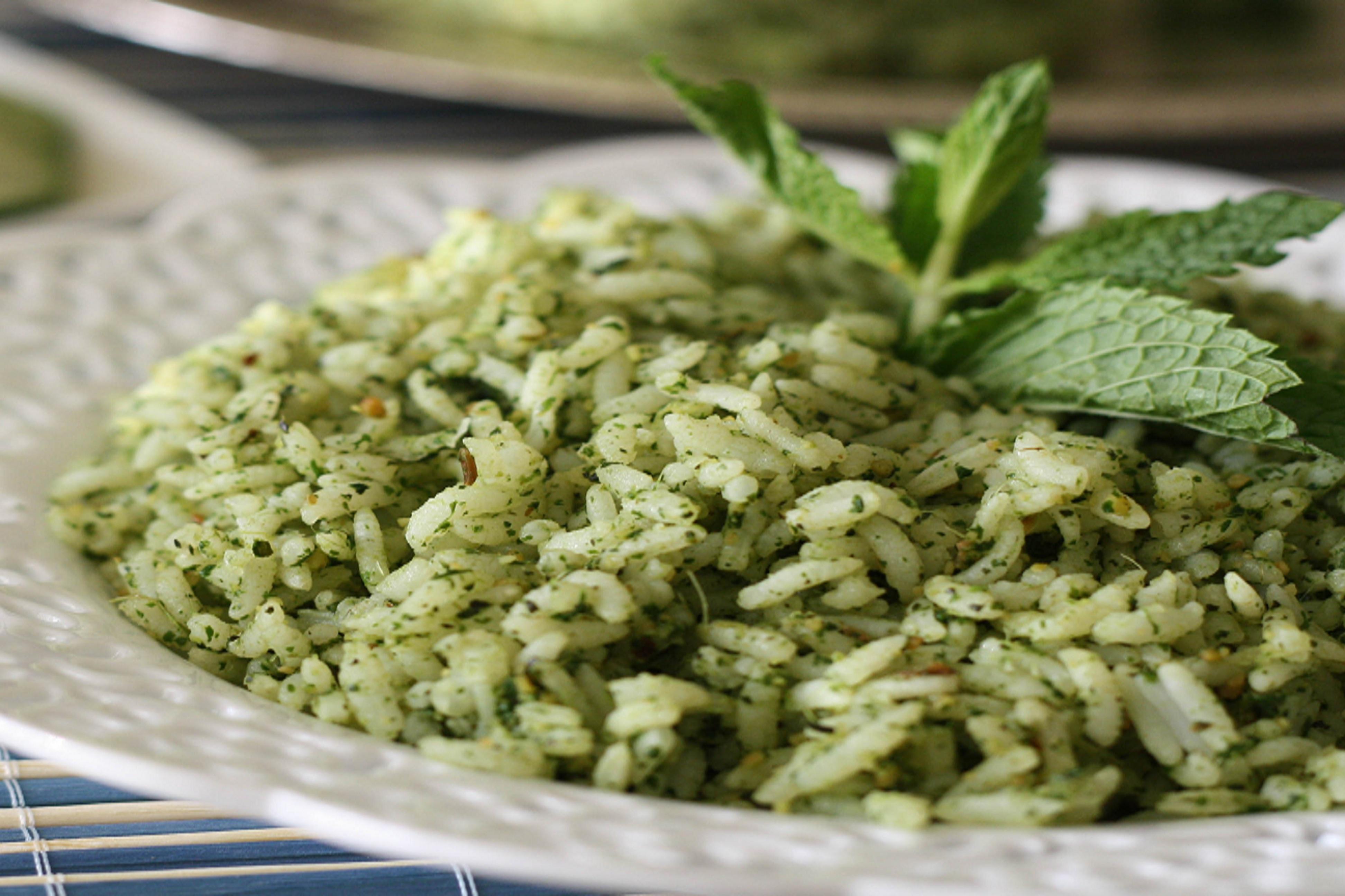 Try Lemon mint rice recipe