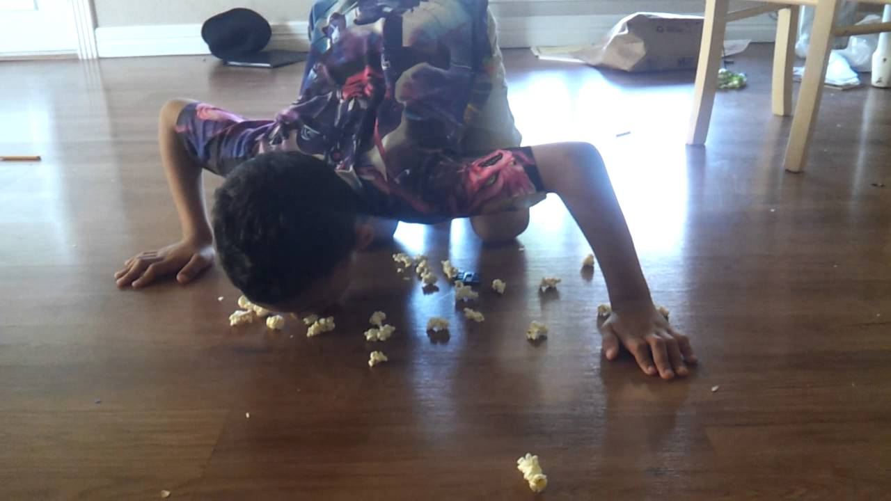 Food, once dropped on the floor is not safe to eat