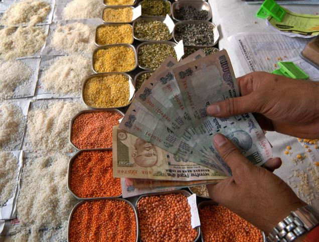 Indias wholesale inflation eases