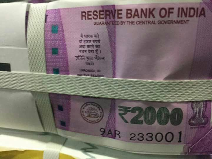 Images of supposed new Rs 2,000 notes emerge on social media