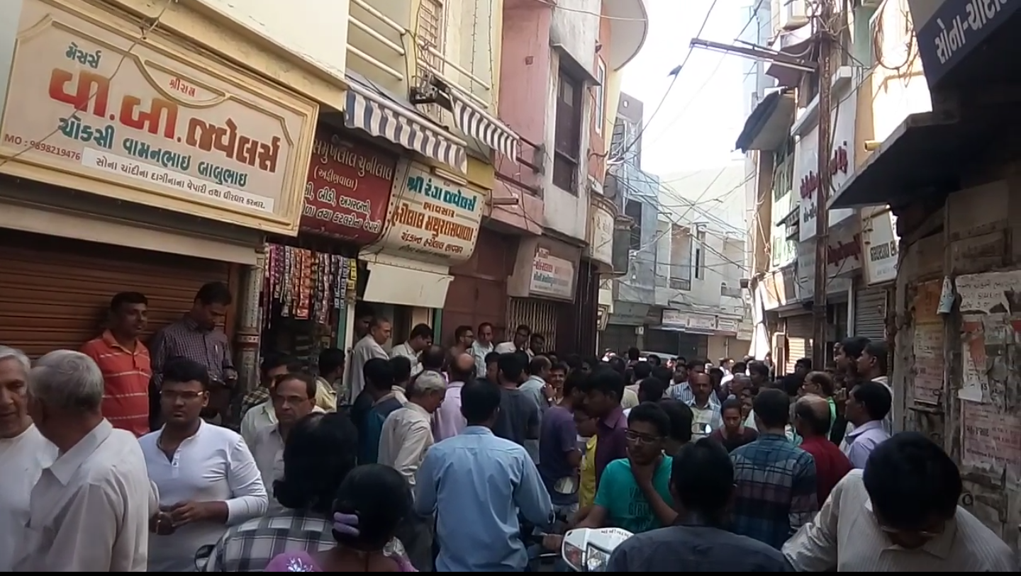 Padra Choksi bazaar closed after Excise department team reached there