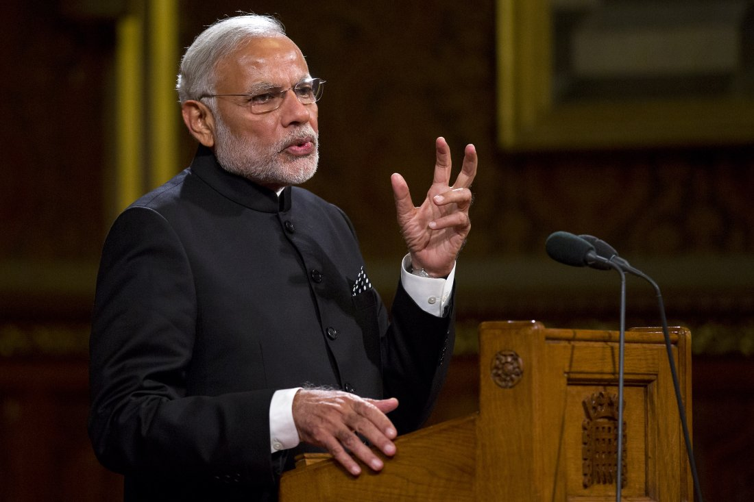 Science, technology important in UK-India ties: Modi