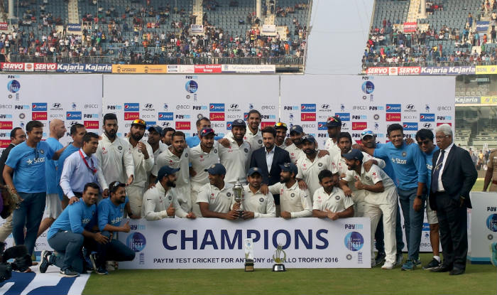 India end year as top ranked Test team