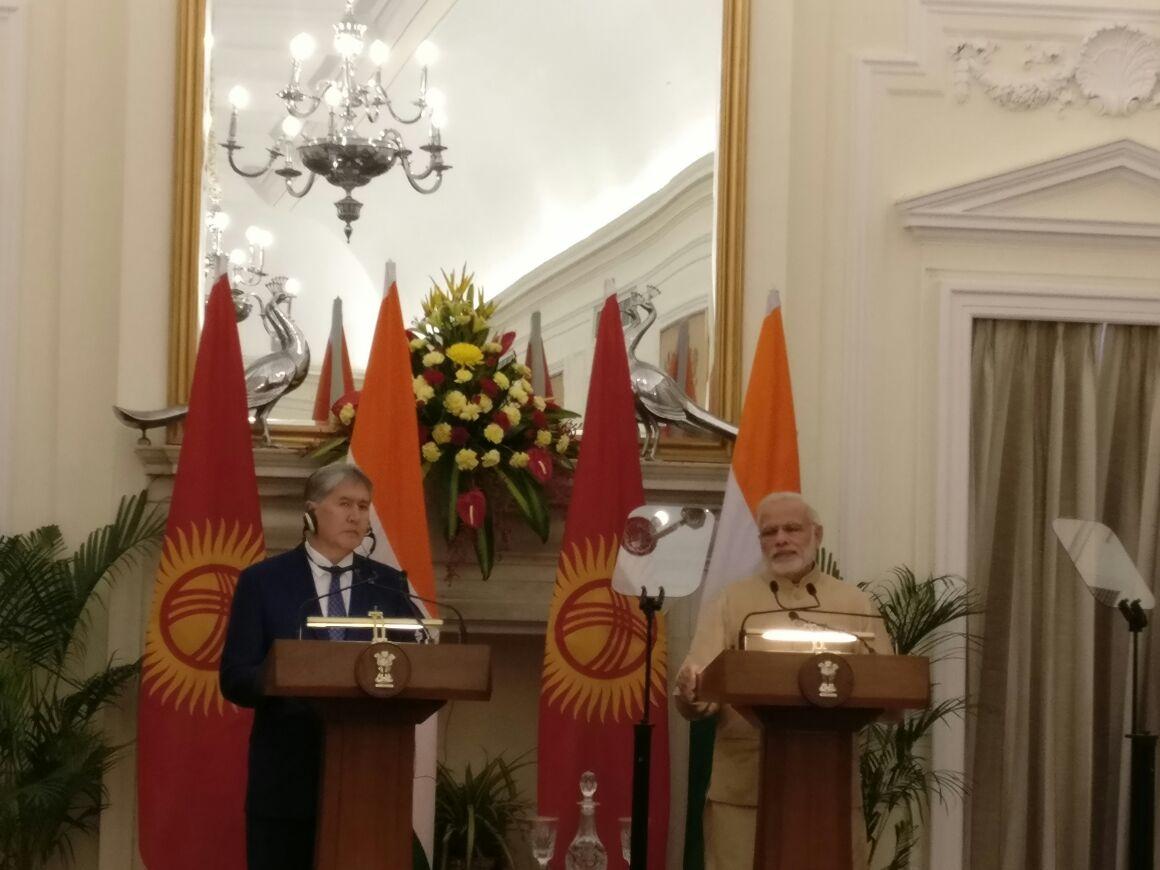 India, Kyrgyzstan to work against terrorism: Modi