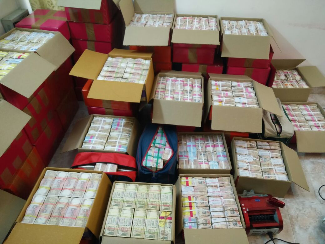 Rs 24 crore in new currency seized from TN businessman's car