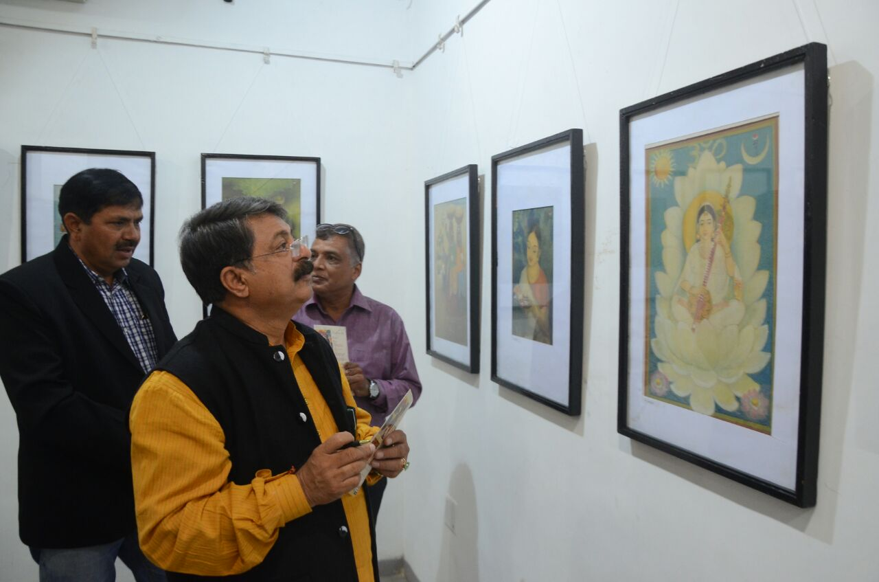 1st time Painting exhibition of Late Shri Somalal Shah in Vadodara