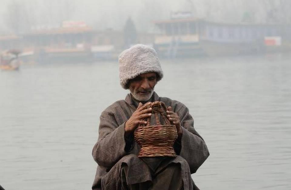 Srinagar records season's coldest night at minus 4.5