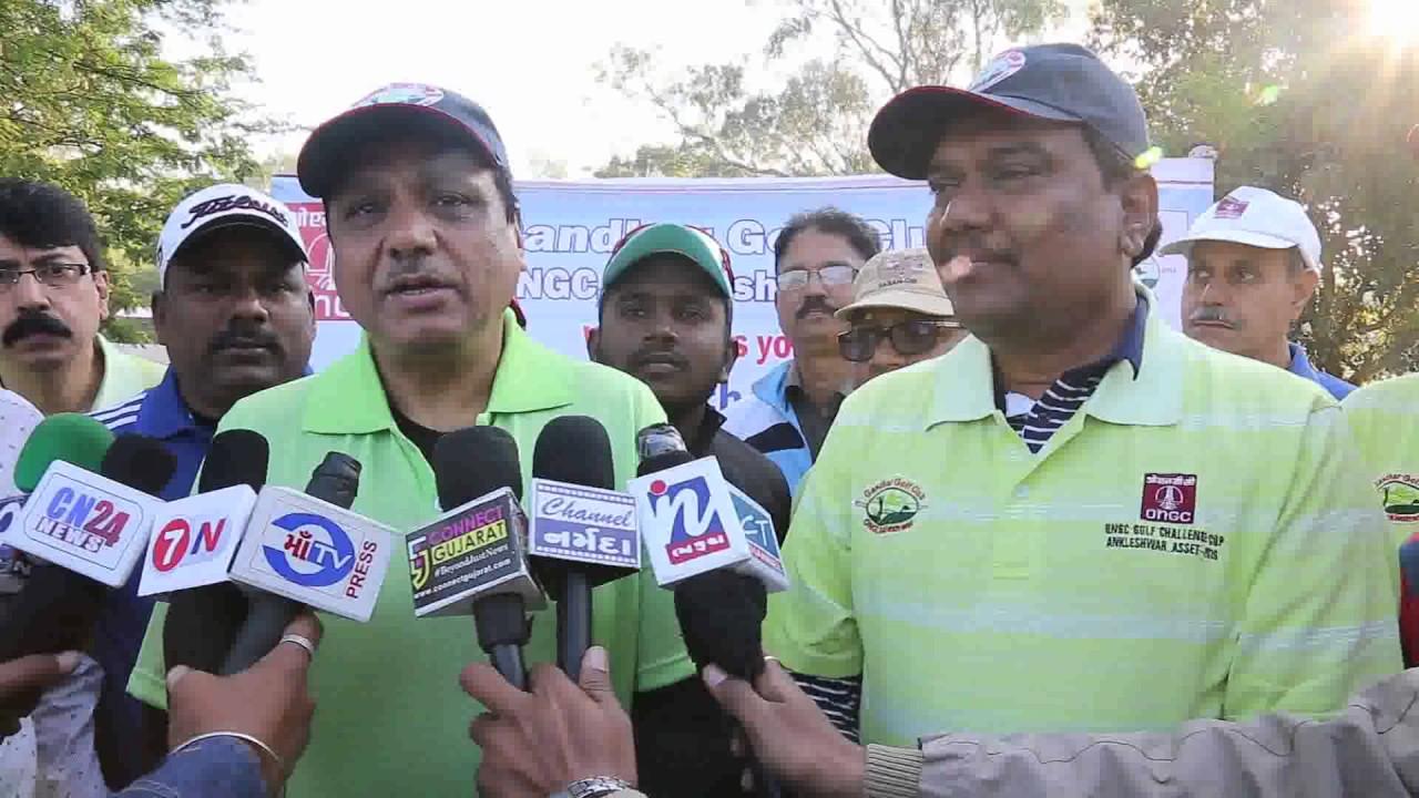 ONGC, Ankleshwar Asset organizes Golf Tournament at GNFC Golf Club, Bharuch