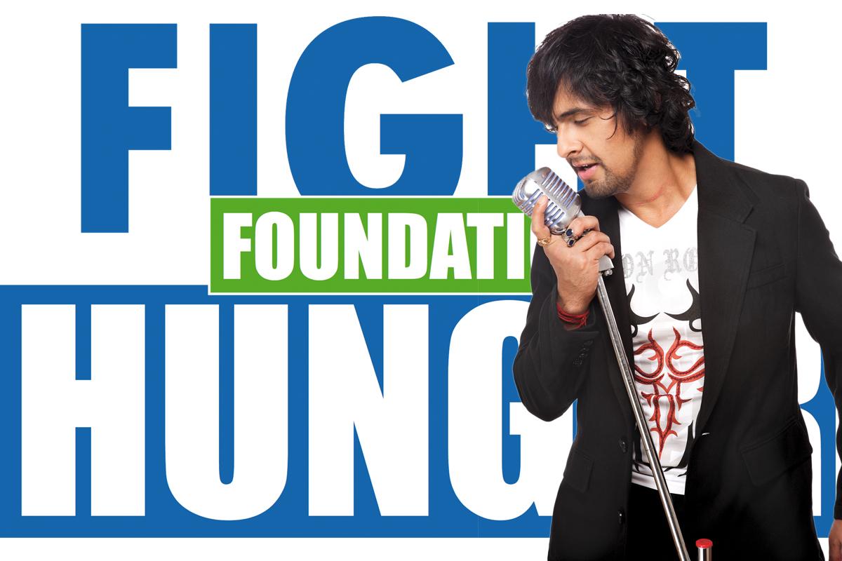 Sonu Nigam named goodwill ambassador for Fight Hunger Foundation