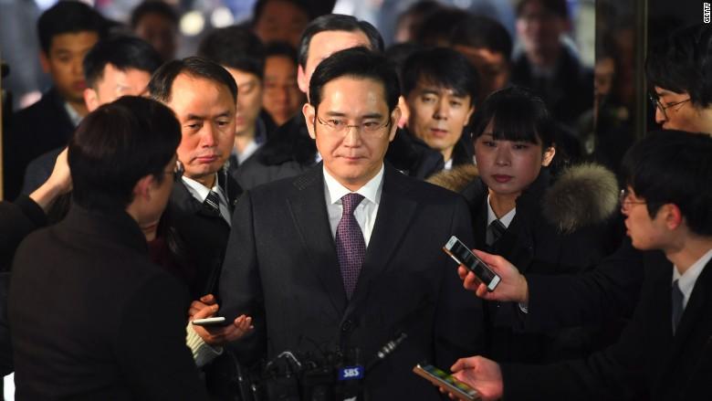 Samsung shares recover after arrest warrant for heir rejected