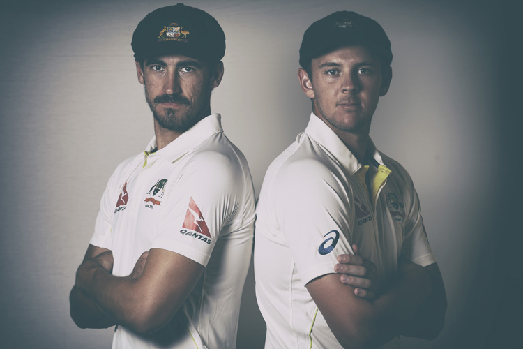 Mitchell Starc and Josh Hazlewood
