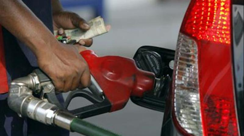 Petrol price hiked by Rs 1.29/litre, diesel by 97 paise