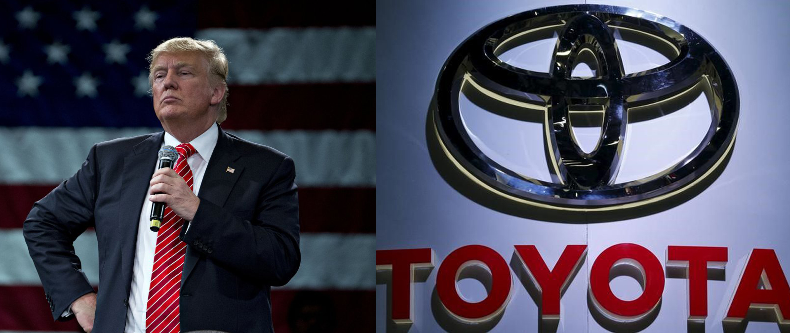 Toyota shares fall following Trump's tariff threat