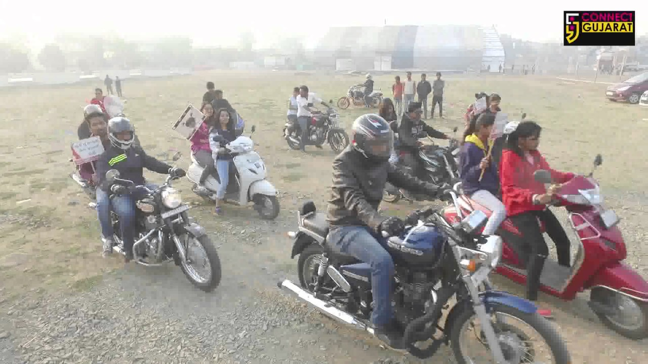 Bikers Rally with the aim of Beti Bachao Beti Padhao in Ankleshwar, Gujarat