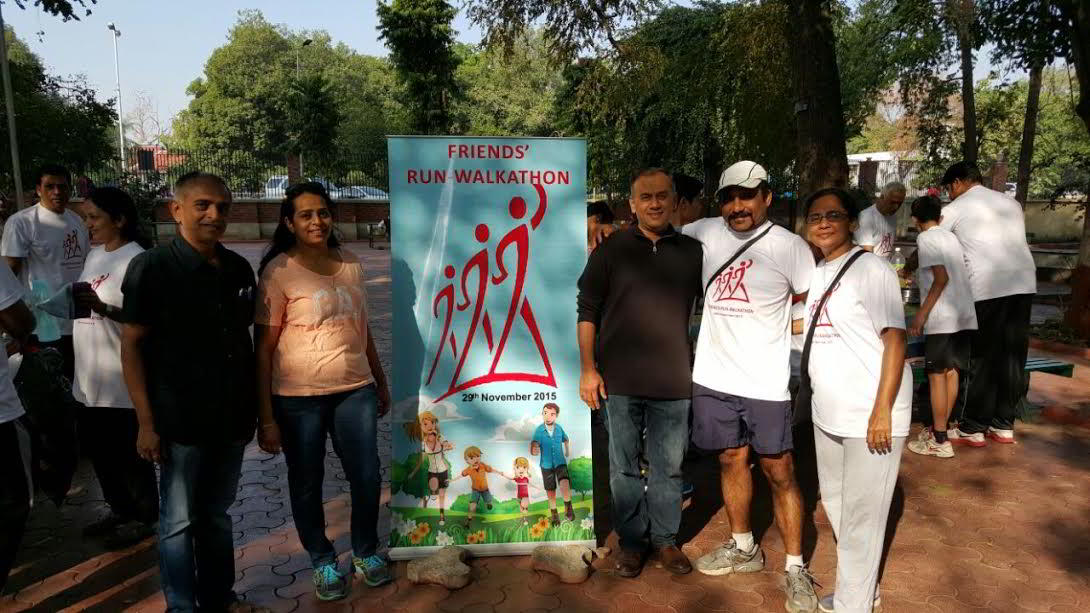 A fitness event Run-Walkathon on 22nd January 2017 at kamatibagh