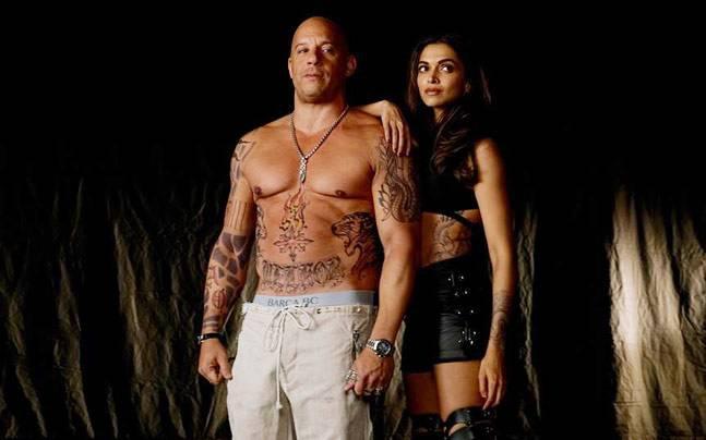 Deepika and Vin Diesel