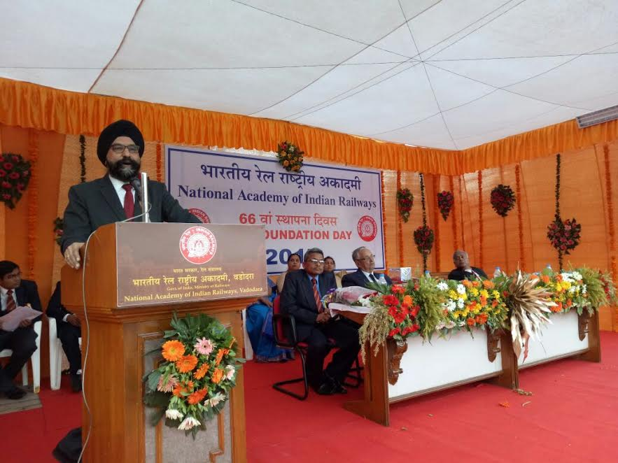 National Academy of Indian Railways (NAIR) organised its 66th Foundation Day on 31st January 2017