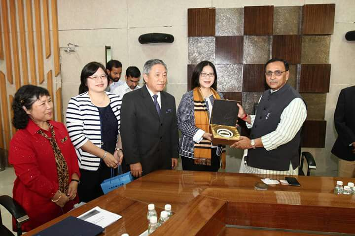 Members of Taipei Finance – Cultural Center pay courtesy visit to CM