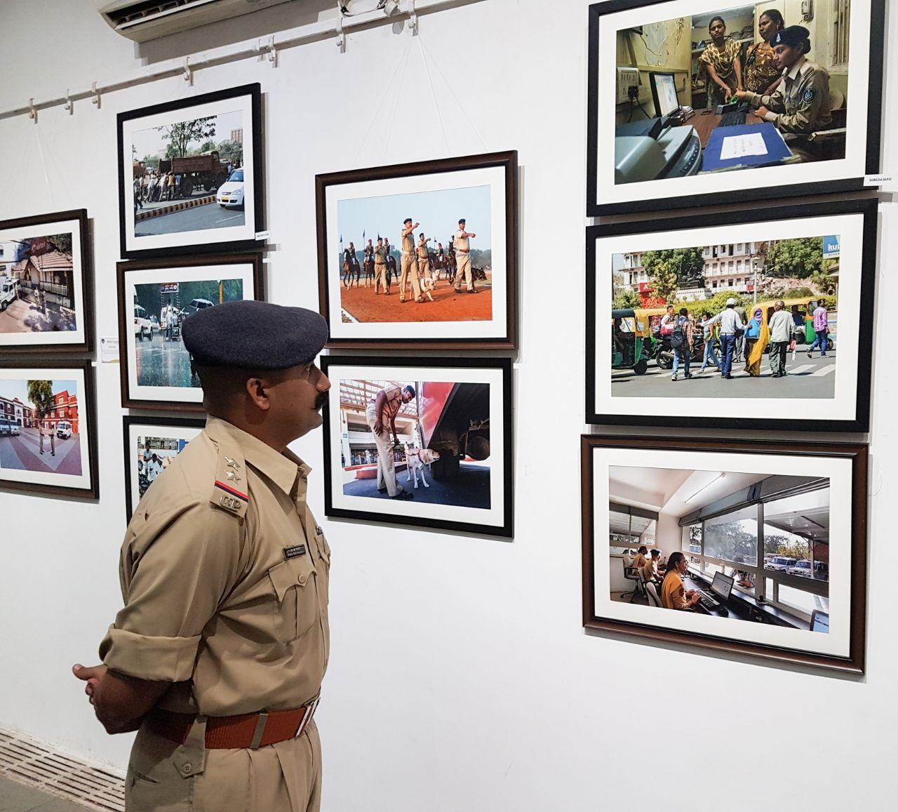 'Police in Pixels' photo exhibition: Vadodara