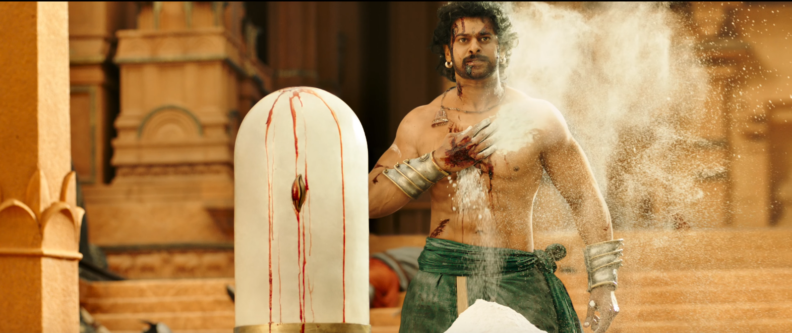 prabhas changed his physical appearance with his trainer in bahubali