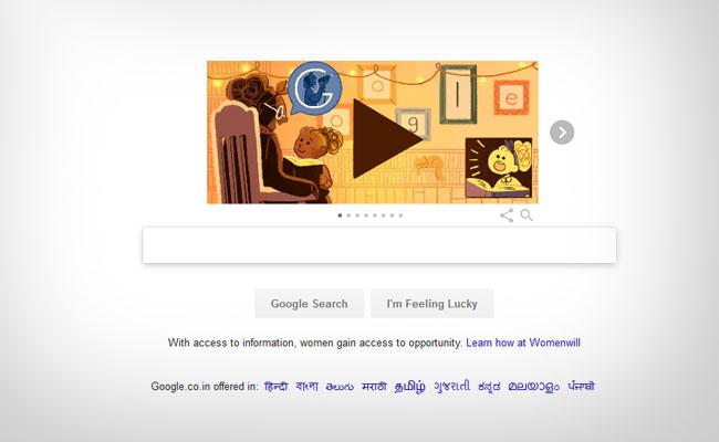 8,march International Women's Day, Google Doodle Celebrates Womanhood