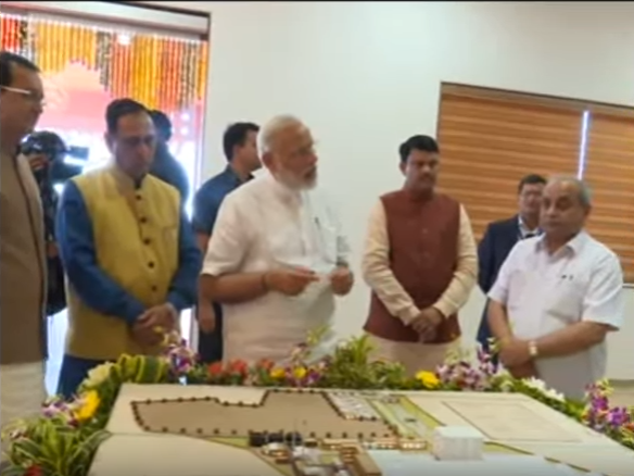 PM at inauguration of SUMUL Cattle Feed Plant in Tapi District, Gujarat
