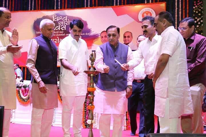 Gujarat CM launches Arogya Setu on World Health Day
