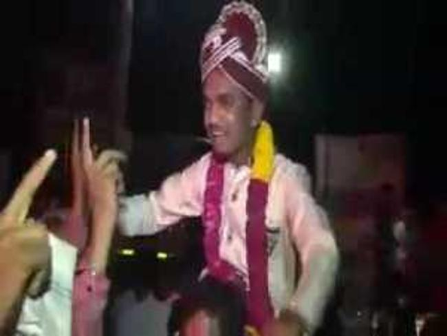 Bridegroom died while enjoying his marriage procession