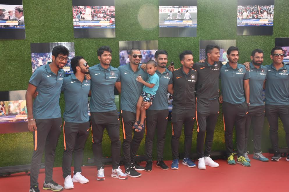 Indian Cricket Team attends the special screening of Sachin A Billion Dreams