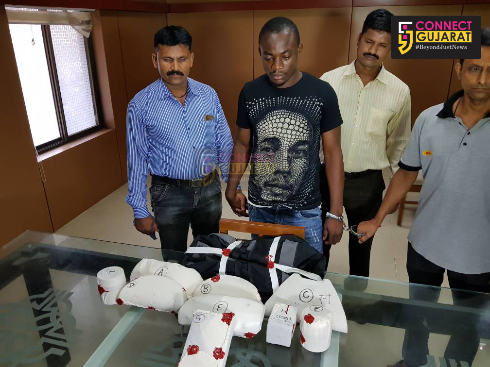 NCB arrested Nigerian with 3.5 crore drugs from Vadodara