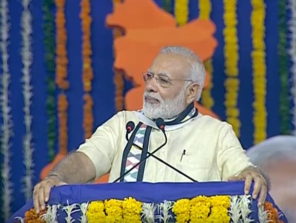 PM Modi at Samajik Adhikarita Shivir in Rajkot, Gujarat