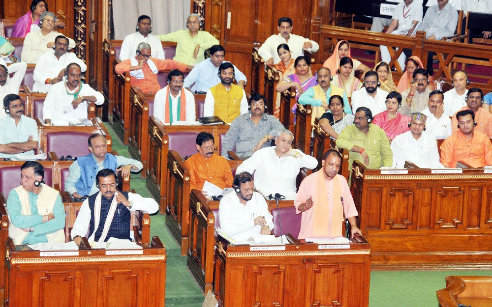 Yogi Governments first budget a historic one