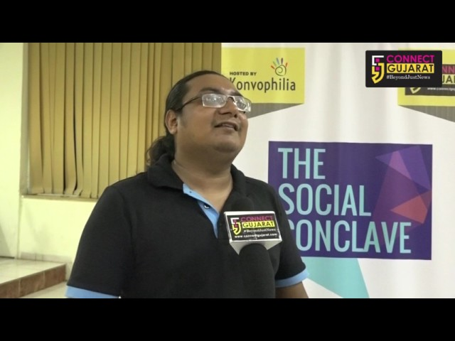 Manish Pandeys Interview with Connect Gujarat at #TSC2017 on World Social Media Day