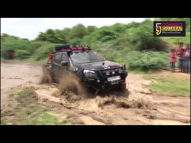 Real test of drivers in the 4×4 off road adventure run