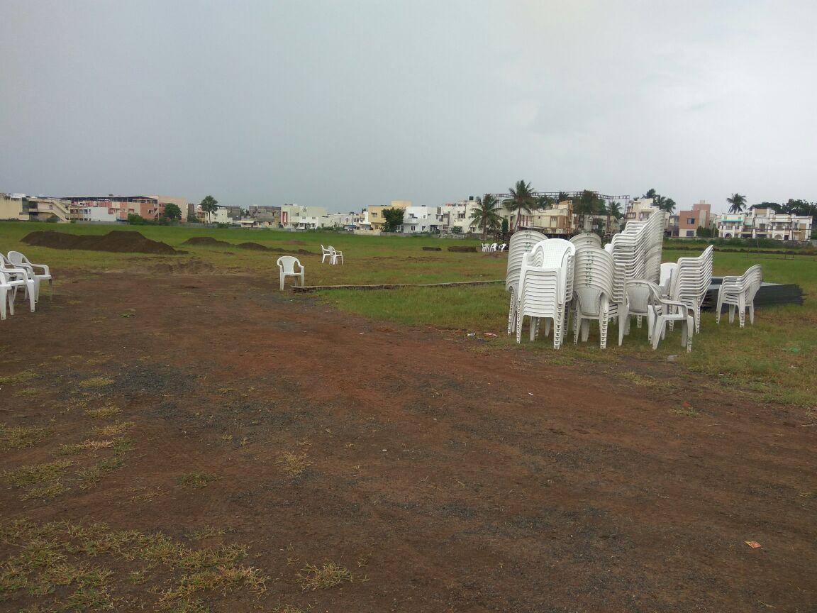 Garba Organisers take ellorabrate steps for rains
