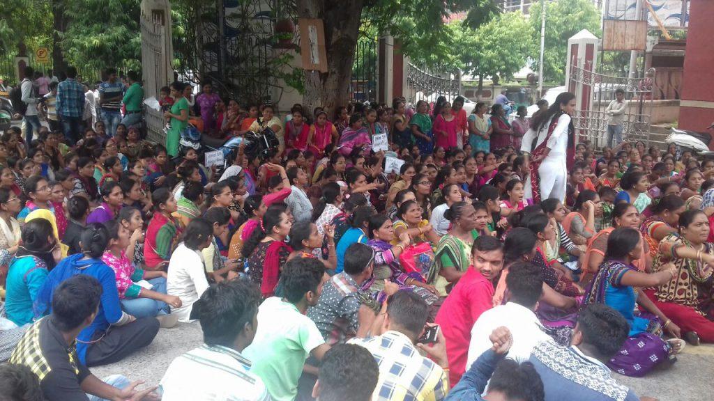 Asha Workers protest in Vadodara - Connect Gujarat