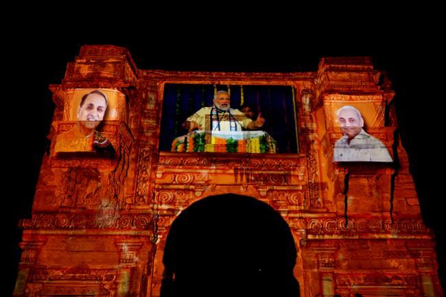 PM Narendra Modi once again on visit to Gujarat