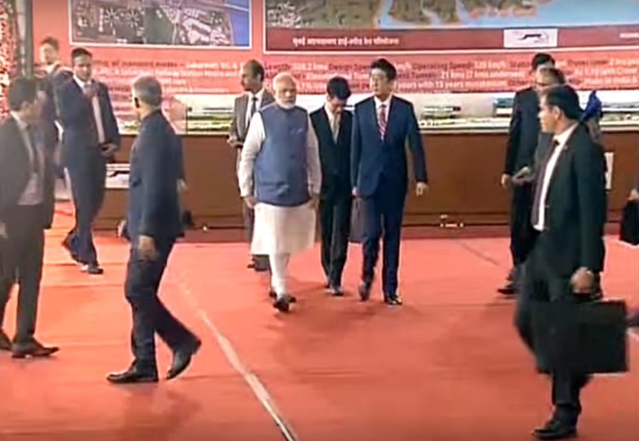 LIVE: PM Modi & PM Abe of Japan to lay foundation stone for India's first High Speed Rail project